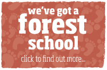 we've got a forest school. click here to find out more